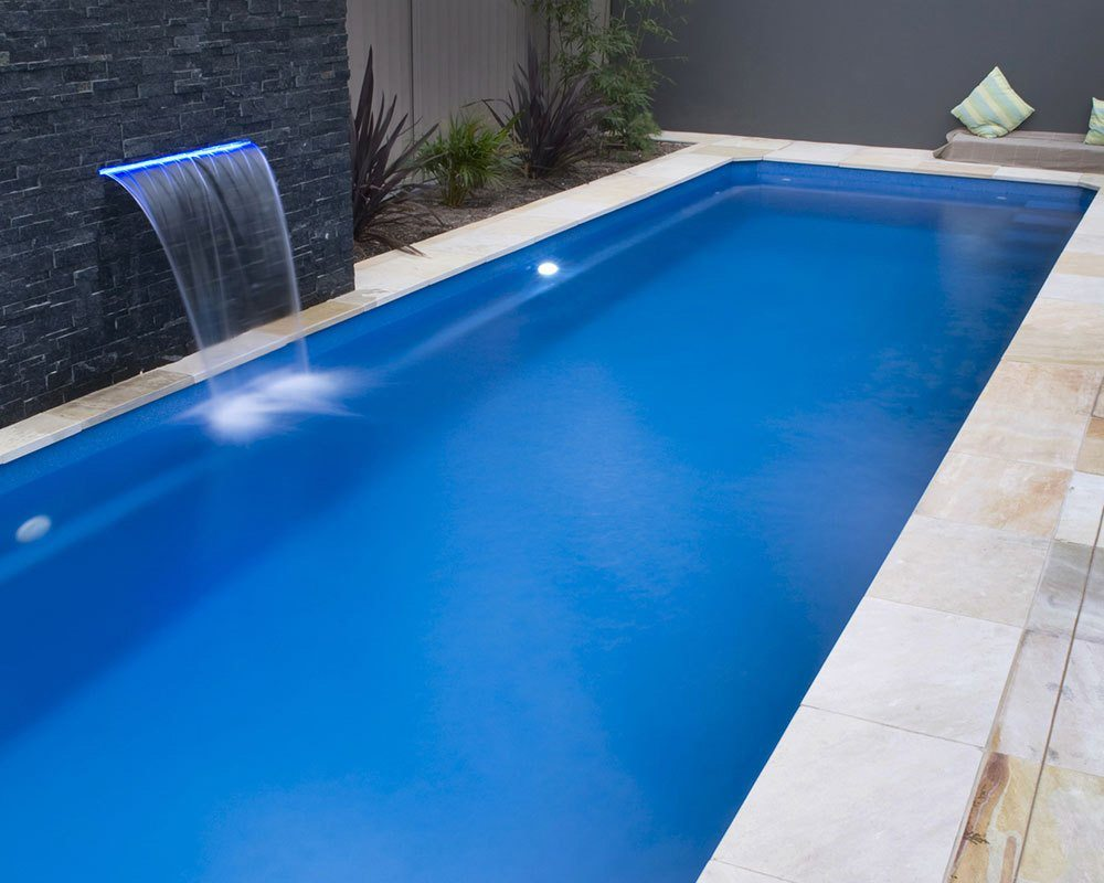 DIY Swimming Pools' Lap Pool 13 Blue Rock Pool Design