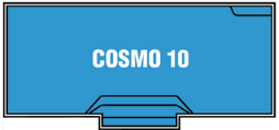 DIY Swimming Pools' Cosmo 10 Pool Design