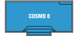DIY Swimming Pools' Cosmo 8 Pool Design - 8 metre pool with a depth ranging between 1m to 1.8m