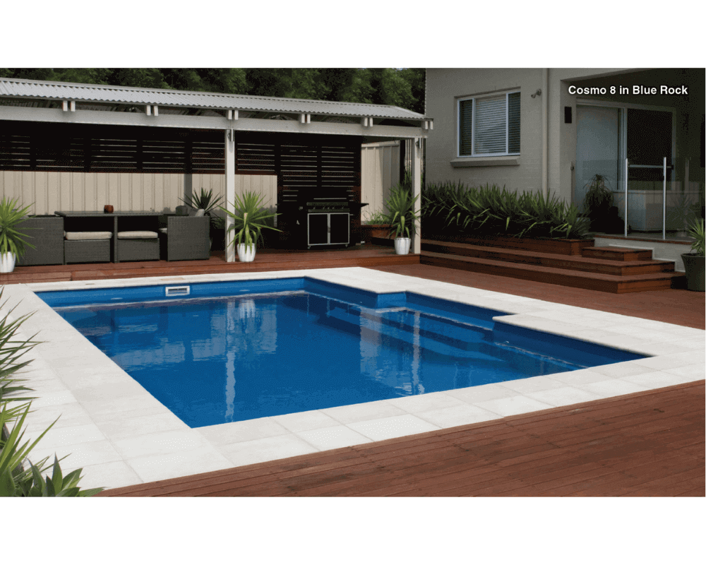 DIY Swimming Pools' Cosmo 8 Blue Rock Pool Design