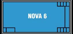 DIY Swimming Pools' Nova 6 Pool Design - 6 metre pool with a depth of 1.5m