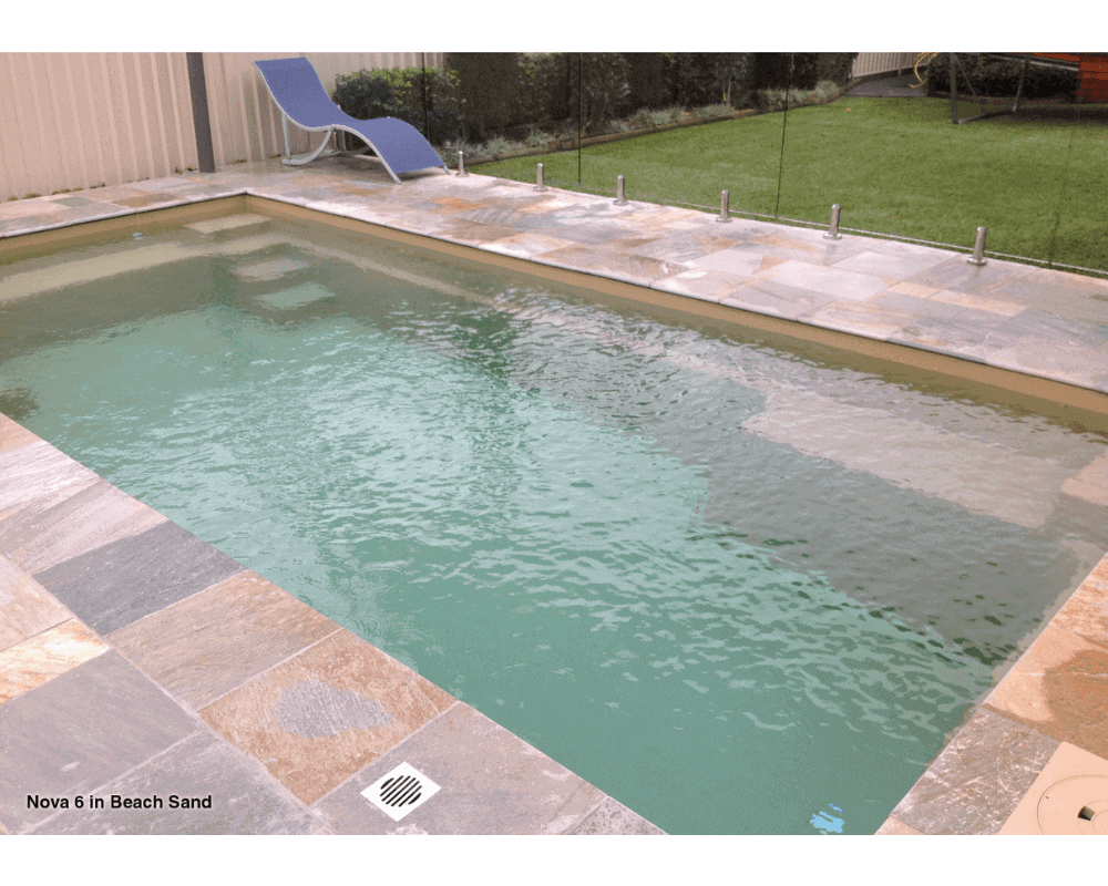 DIY Swimming Pools' Nova Beach Sand Pool Design