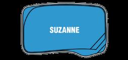 DIY Swimming Pools' Sussane Pool Design - 6 metre pool with a depth ranging between 1.23m to 1.7m